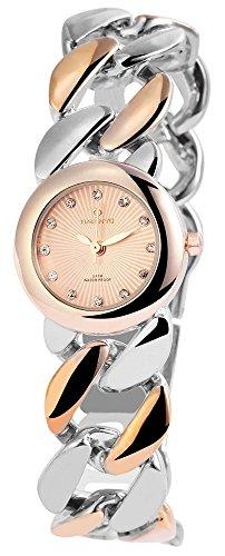 Effektuhr rose silver Ladywatch Modernes Kettenband