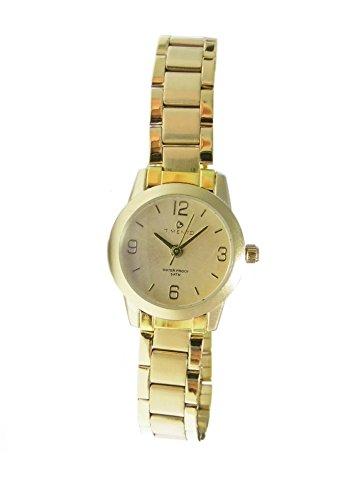 Exclusive Timento Armbanduhr Uhr Analog goldfarben
