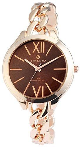 Timento mit Metallkettenarmband Uhr 510037000016