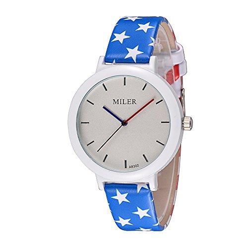 Armbanduhr Quarzuhr Flagge USA