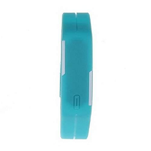 Tangda Jungen Maedchen Armband Uhr Kinder Armbanduhr Duenne Sport Silikon Digital LED Uhren Schule Uhr Wrist Watch - Blau