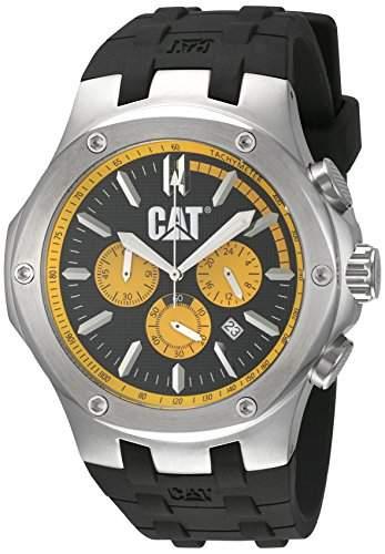 CAT Herren-Armbanduhr Analog Quarz Kautschuk A114321127