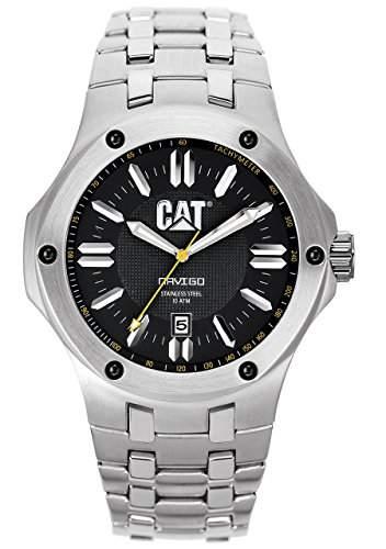 CAT Herren-Armbanduhr Analog edelstahl silber A114111124