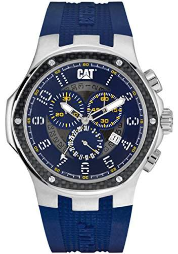 CAT Herren-Armbanduhr Analog Quarz Silikon A514326616