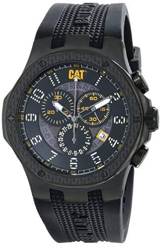 CAT ArmbanduhrES Herren A516321111 Carbon Chrono Analog Display Quartz Black Armbanduhr