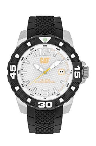 Cat Uhren Herren pt14121232 Sport Evo Analog Display Quartz Black Watch