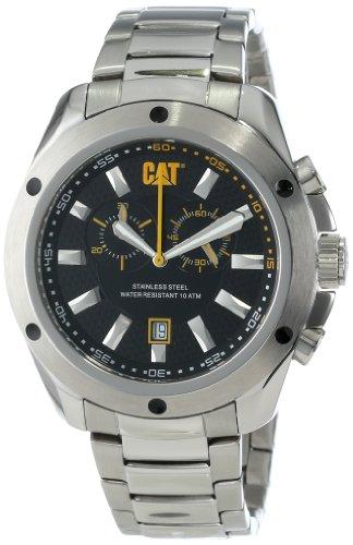 CAT UhrES Herren YQ14311124 Stream Chrono Black Analog Dial with Metal Bracelet Uhr