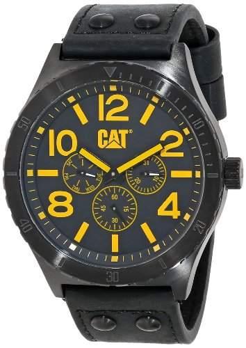 Cat Camden 48 mm MenHerren Armbanduhr Analog Leder braun NI19935939
