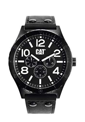 Caterpillar Herren-Armbanduhr Analog Quarz Schwarz NI169343131