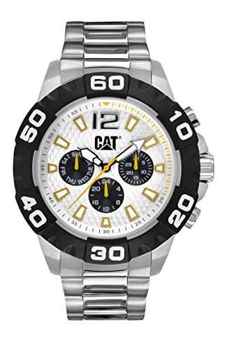 CAT Herren-Armbanduhr Analog Quarz Edelstahl PQ14911231