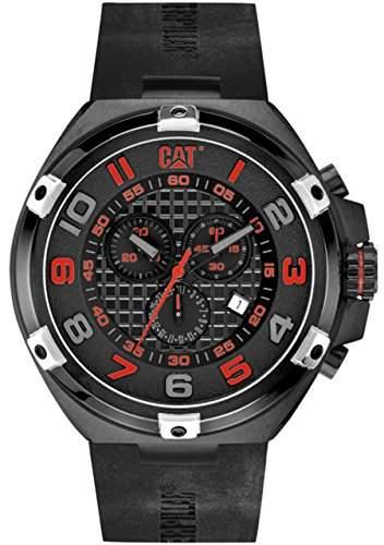 CAT Herren-Armbanduhr Blade Analog Quarz Silikon SA16321118
