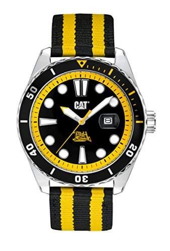 CAT Herren-Armbanduhr Highway Analog Quarz Textil YR14164124