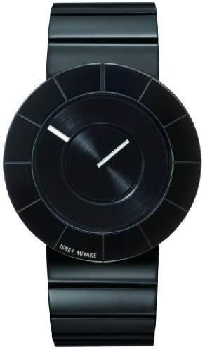 Issey Miyake Herren-Armbanduhr Analog schwarz IM-SILAN007