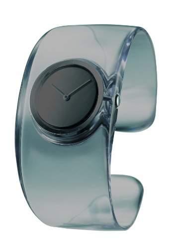 Issey Miyake Damen-Armbanduhr O Analog resin grau SILAW002
