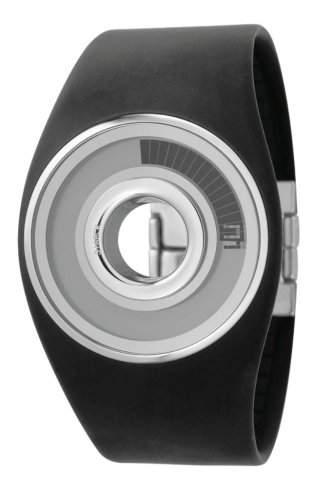 Fossil by Philippe Starck Unisex-Armbanduhr O-Ring Digital Quarz Plastik PH1085