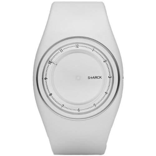 Philippe Starck Uhr GNTS PU WHITE ANALNO PH5037