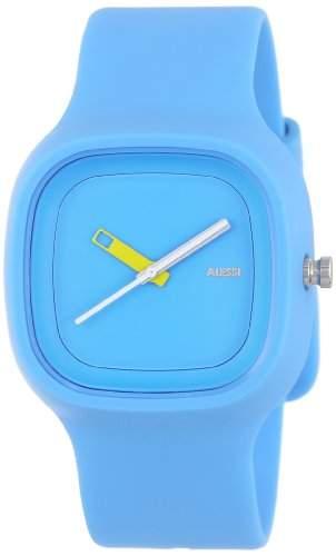 Alessi Unisex-Armbanduhr Analog Quarz Plastik blau AL10012