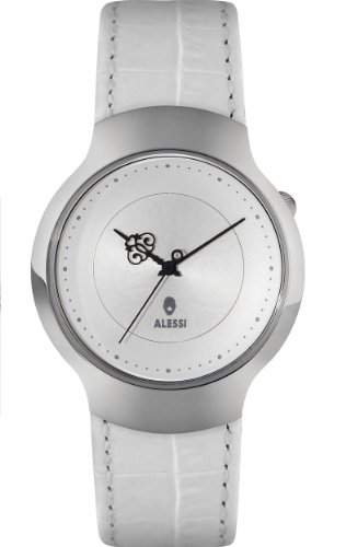 Alessi Unisex-Armbanduhr Analog Quarz Weiss AL27021