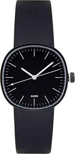 ALESSI Damen-Armbanduhr Analog Quarz Leder AL5051