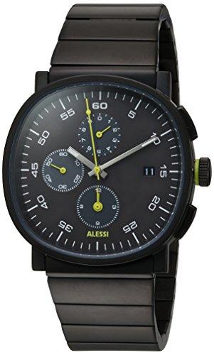 ALESSI Herren Armbanduhr Chronograph Quarz Edelstahl AL5032