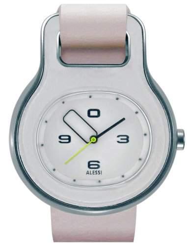 Alessi Unisex-Armbanduhr Buckle AL 9000