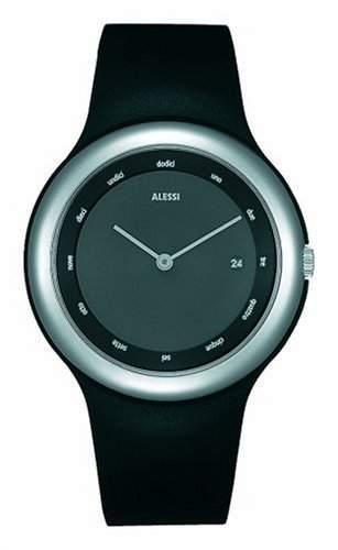 Alessi Unisex-Armbanduhr Tondo AL 7000