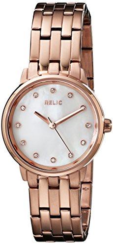 Relic Damen zr34295 Perla Analog Display Analog Quarz Rose Gold Watch