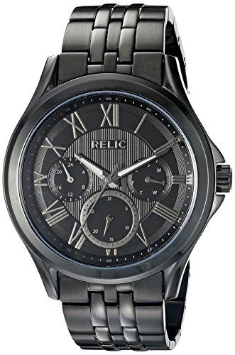 Relic Herren zr15820 Corbin Analog Display Analog Quartz Black Watch