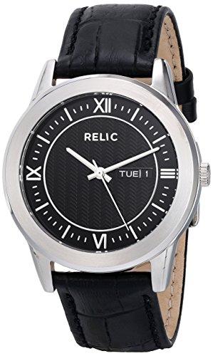 Relic Herren zr77267 Analog Display Analog Quartz Black Watch
