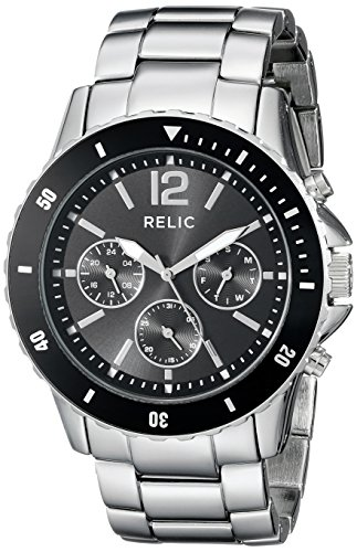 Relic Herren zr15771 Jaxton Edelstahl Armband Armbanduhr
