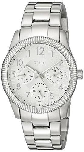 Relic Damen zr15815 Kendra Analog Display Armbanduhr Analog silber Quarz