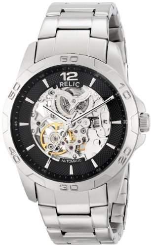 Relic Herren ZR12013 Analog Display Analog Quartz Silver Armbanduhr