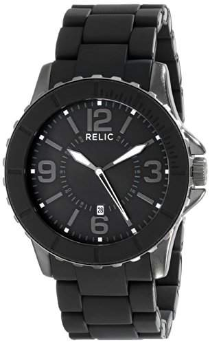 Relic Herren ZR12092 Analog Display Analog Quartz Black Armbanduhr