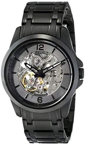 Relic Herren ZR12110 Analog Display Analog Quartz Black Armbanduhr