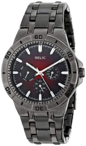 Relic Herren ZR15514 Analog Display Analog Quartz Grey Armbanduhr