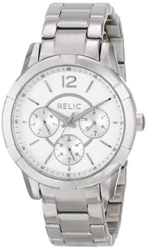 Relic Damen ZR15696 Analog Display Analog Quartz Silver Armbanduhr