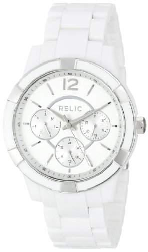 Relic Damen ZR15699 Analog Display Analog Quartz White Armbanduhr