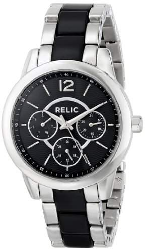 Relic Damen ZR15711 Analog Display Analog Quartz Black Armbanduhr