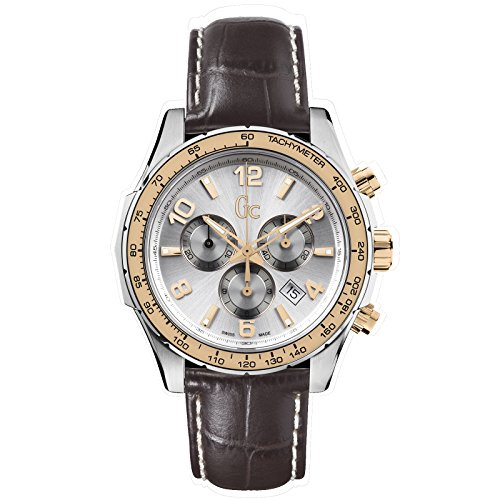 GUESS COLLECTION TECHNOSPORT HERREN 44MM CHRONOGRAPH DATUM UHR X51005G1S