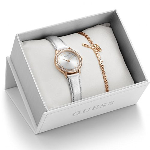Damen Guess Geschenk Set Armbanduhr ubs82107 l