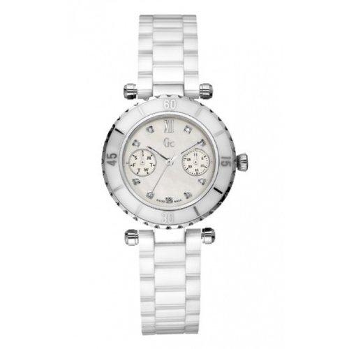 Guess Damen Armbanduhr Analog Quarz Edelstahl I46003L1