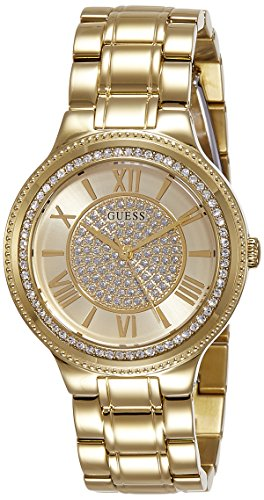Guess Damen Armbanduhr Analog Quarz Edelstahl W0637L2