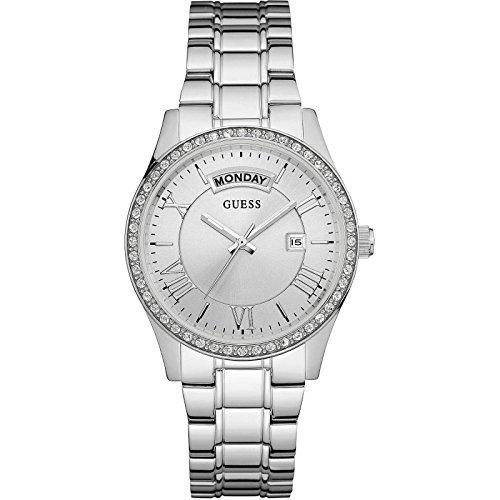 Guess Damen Armbanduhr Analog Quarz Edelstahl W0764L1
