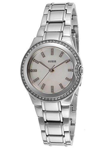 Guess Damen Armbanduhr Analog Quarz Edelstahl W11178L1