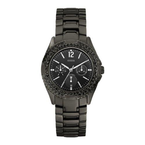 Guess Damen Armbanduhr Analog Edelstahl W14543L1