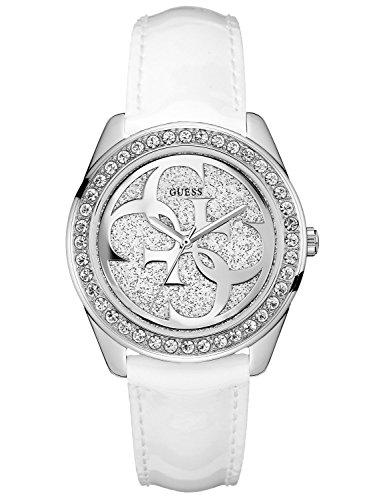Guess Damen Armbanduhr Analog Quarz Leder W0627L4