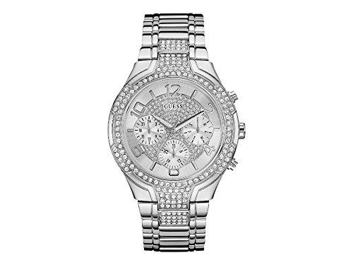 Guess Damen Armbanduhr Chronograph Quarz Edelstahl W0628L1