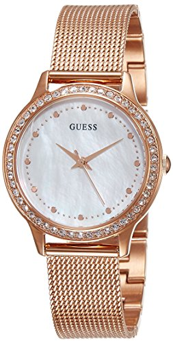 Guess Ladies Dress Analog Quarz Edelstahl W0647L2