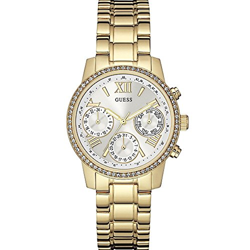 Guess Ladies Sport Analog Quarz Edelstahl W0623L3