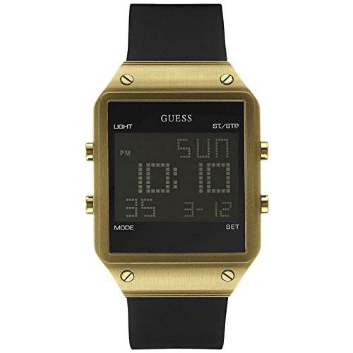 Guess Herren Armbanduhr Digital Quarz Kautschuk W0595G3